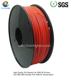 ABS filament Red color 1.75/3.0mm