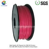 PLA filament Dark Pink color 1.75/3.0mm