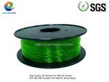 PETG filamentTransparent Green color 1.75/3.0mm