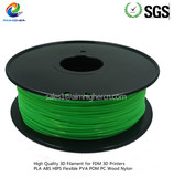 PC filament Fluo Green color 1.75/3.0mm