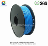 PLA filament Light Blue color 1.75/3.0mm